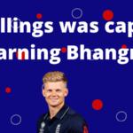 Sam Billings was captured learning Bhangra