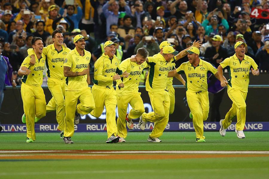 the Australia national cricket team - Team Jersey.