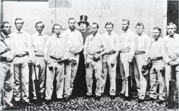 English cricket team in 1861.