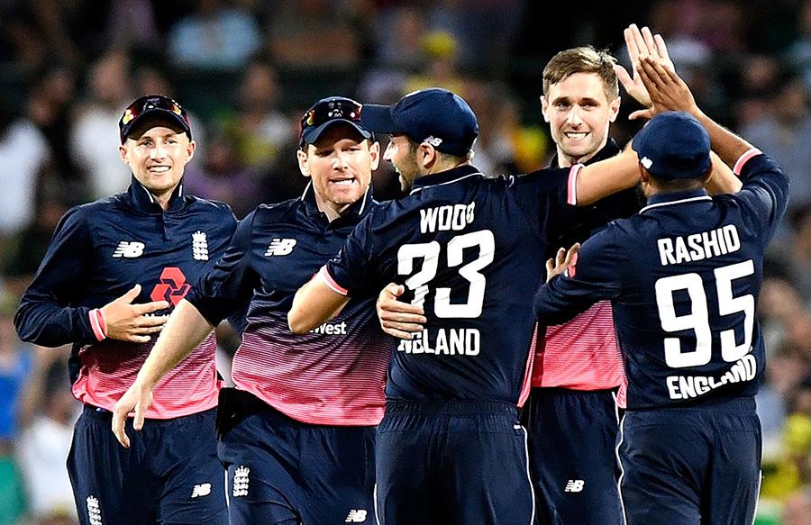 Team jersey of England cricket team.